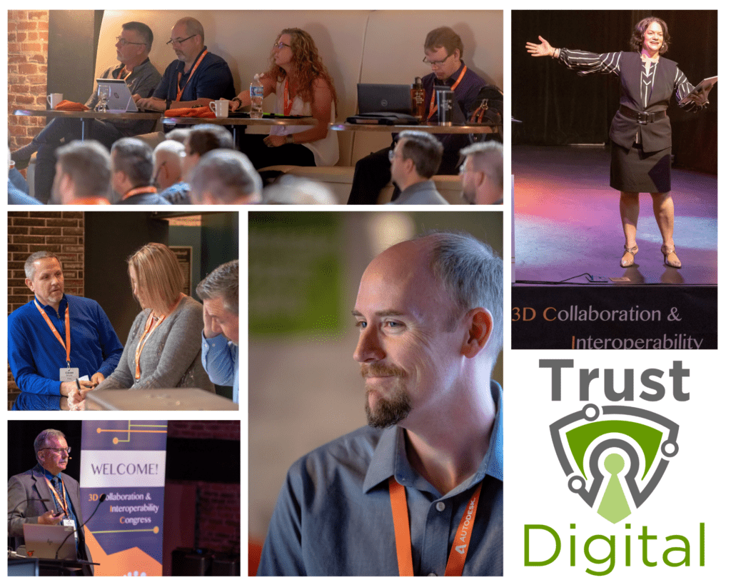 3D CIC Oct 12-15, 2020 Trust Digital Theme collage of past conference speakers and attendees