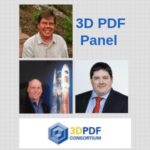 3D PDF Panel Speakers 3D PDF Consortium Logo
