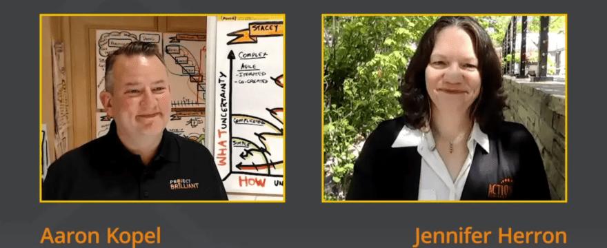 "Jennifer Talks ""Agile Chaos"" with Project Brilliant"