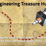 Vintage Map reading Engineering Treasure Hunt