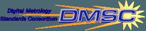 DMSC Digital Metrology Standards Consortium logo with yellow/gold starburst
