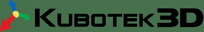Kubotek3D Logo + red + blue + green arrows