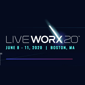 LiveWorx2020 June 8-11, 2020 Boston MA