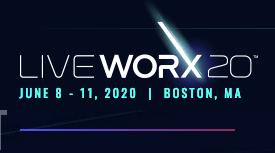 LiveWorx 2020 June 8-11, 2020 Boston MA
