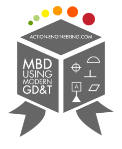 MBD Using Modern GD&T Badge