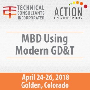MBD Using Modern GD&T Course Banner