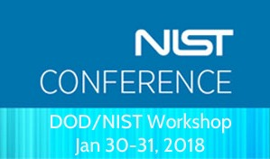 NIST DOD Workshop Jan 30-31 2018