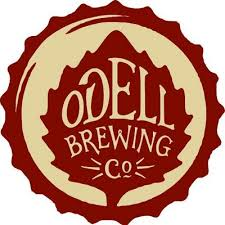 Odell Brewing Co brown/gold logo on bottle cap
