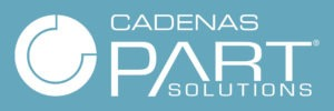 CADENAS PARTsolutions blue and white logo