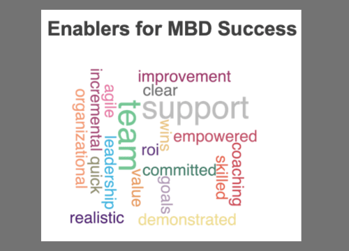 Chronicles of the MBD Journey: A Tale of 4 Companies