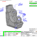 QIF BRACKET MBD Minimal Annotations with Key Characteristics