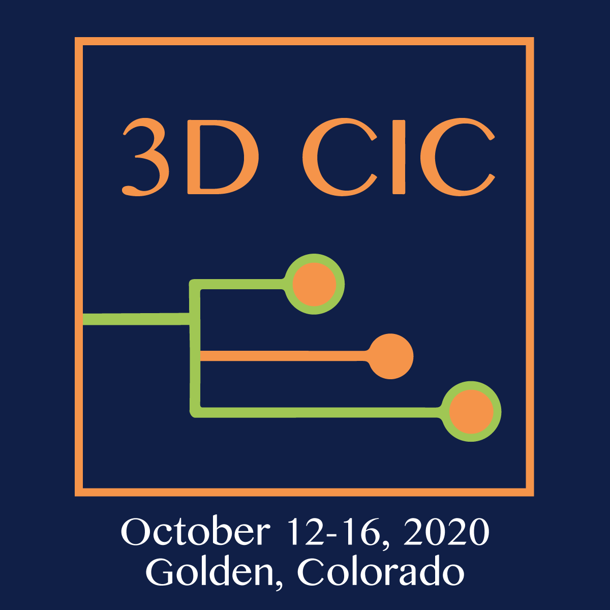 3D CIC Oct 12-16, 2020 in Golden CO