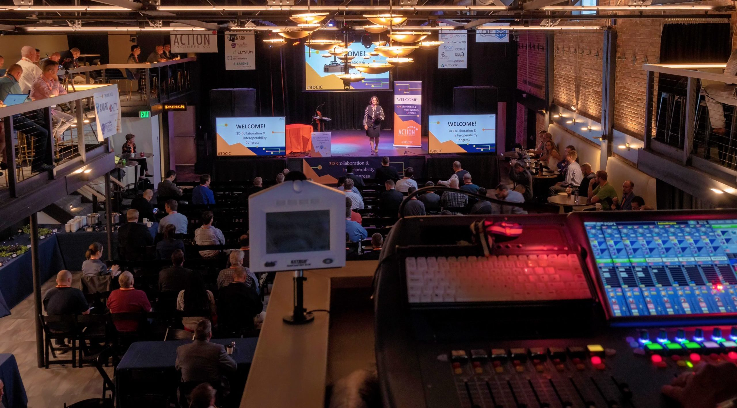 3D CIC 2019 Keynote Presentation from Sound Booth