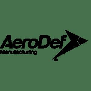 AeroDef Manufacturing Logo